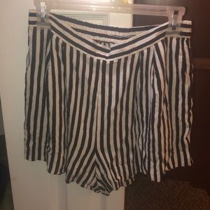 H&M Striped Shorts Size 8
